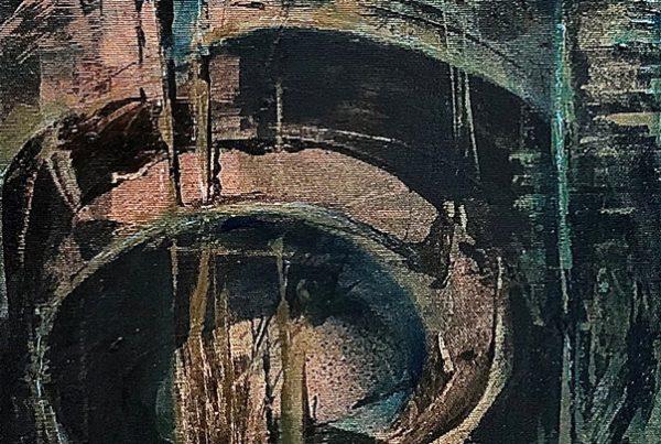 Koru 30x100 Spraypaint & Acryl on Canvas
